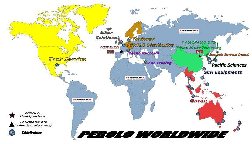 Perolo ve světě